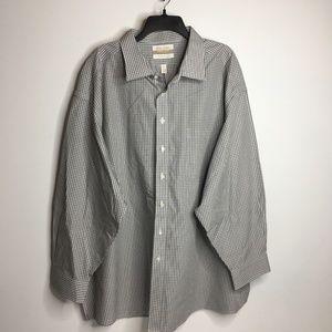 long sleeve casual button up shirt cotton